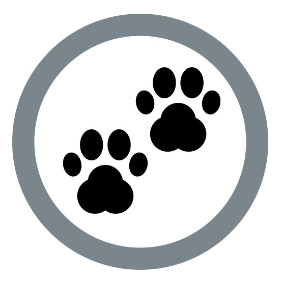 Paw logo for dog leash